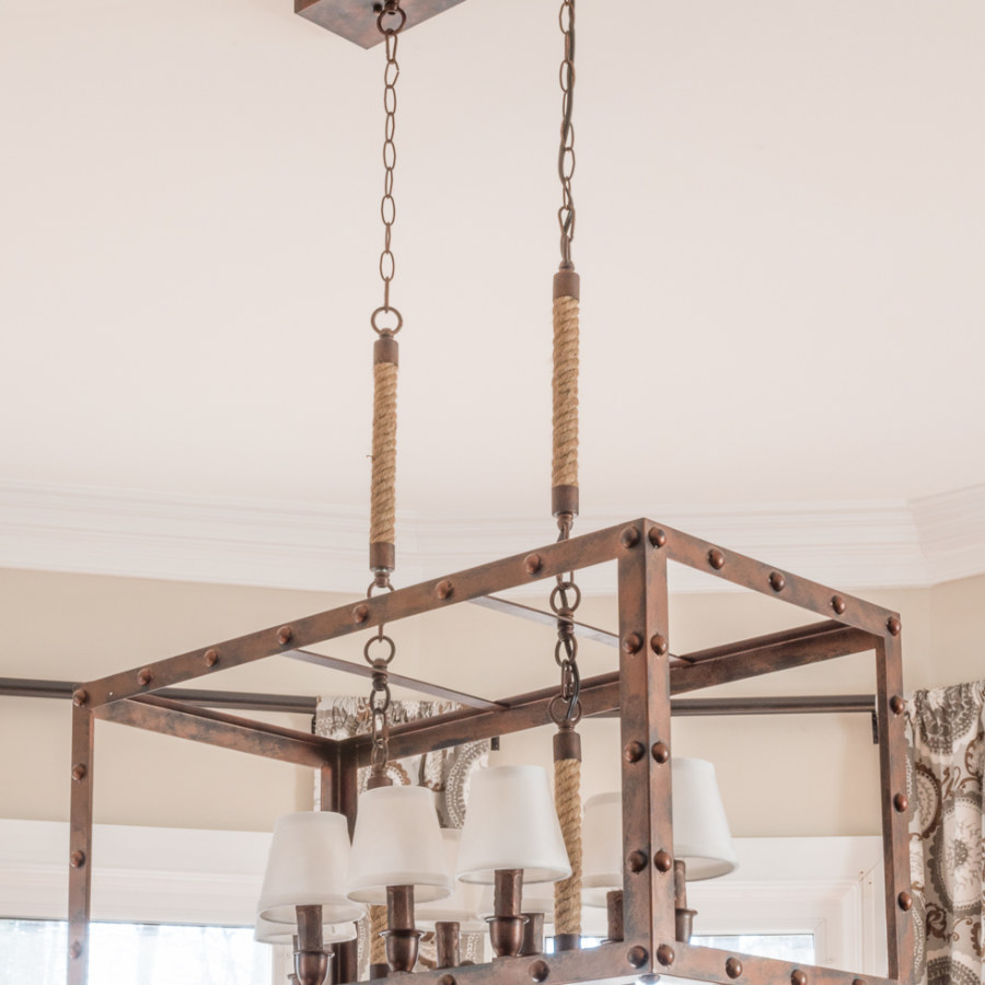 Industrial Farmhouse Chandelier